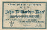10 Milliarden Mark 1923 Deutsches Reich,We...