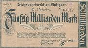 50 Milliarden Mark 1923 Deutsches Reich,We...