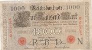 1000 Mark 1910 Deutsches Reich, Kaiserreic...