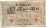 1000 Mark 1908 Deutsches Reich,Kaiserreich...