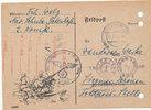 Feldpostkarte 1943 Deutsches Reich,Drittes...