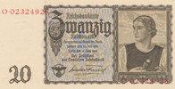20 Reichsmark 1939(1945) Deutsches Reich,D...