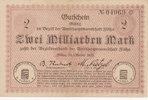 2 Milliarden Mark 1923 Deutschland,Sachsen...