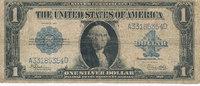 1 Dollar 1923 USA Silver Certificate, star...