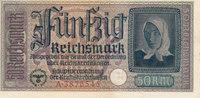 50 Reichsmark 1939-1944 Deutsches Reich,Dr...