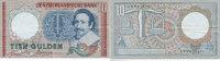 10 Gulden 1953 Niederlande  gebraucht III+,