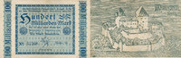 100 Milliarden Mark 1923 Deutsches Reich, ...