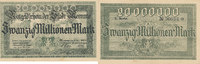 20 Millionen Mark, 2.Okt.1923 Deutsches Re...