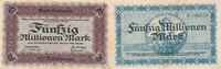 50 Millionen Mark, 1923 Deutsches Reich, S...