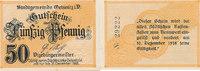 50 Pfennig 1918 Deutsches Reich, Sachsen, ...