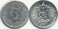 5 Pfennig um 1900 Deutsches Reich,Kaiserre...
