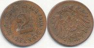 2 Pfennig 1910 Deutsches Reich,Kaiserreich...