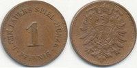 1 Pfennig um 1870 Deutsches Reich,Kaiserre...