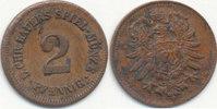 2 Pfennig um 1870 Deutsches Reich,Kaiserre...