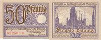 50 Pfennig 1919 Deutsches Reich,Danzig, St...