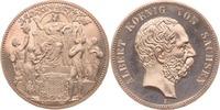 Medaille 1889 Kaiserreich - Sachsen 800-Ja...
