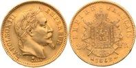 20 Francs 1862 Frankreich Napoleon III. ss-vz