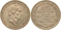 1/3 Taler 1854 Sachsen Friedrich August II...