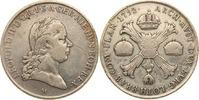 Kronentaler 1792 M Habsburg - Österreich-N...