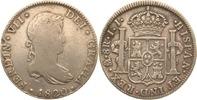8 Reales 1820 Mexiko Ferdinand VII. ss