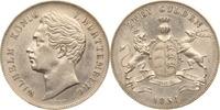 2 Gulden 1854 Württemberg Wilhelm I. vz