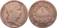 5 Francs 1813 Frankreich Napoleon s-ss