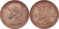1 Gulden 1892 Niederlande Wilhelmina ss