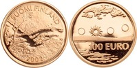100 Euro 2002 Finnland Lappland, Wasserfal...