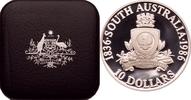 10 Dollars 1986 Australien Wappen von Sout...