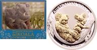 1 Dollar 2011 Australien Koala st, vergoldet