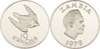 10 Kwacha 1979 Sambia Taitafalke PP
