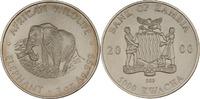 5000 Kwacha 2000 Sambia Elefant st