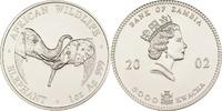 5000 Kwacha 2002 Sambia Elefant st