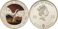 5000 Kwacha 2002 Sambia Elefant st in Farbe