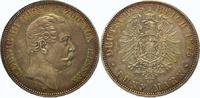 5 Mark 1875  H Hessen Ludwig III. 1848-1877. Äußerst selten in dieser E... 5750,00 EUR  +  5,00 EUR shipping
