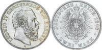 2 Mark 1888  A Hessen Ludwig IV. 1877-1892. Winz. Kratzer, sehr schön -... 1950,00 EUR  +  5,00 EUR shipping