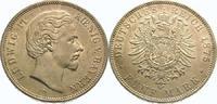5 Mark 1875  D Bayern Ludwig II. 1864-1886. Vorzüglich - Stempelglanz  575,00 EUR  +  5,00 EUR shipping