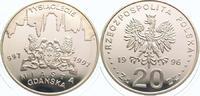 20 Zloty 1996 Polen Republik Polen. Polier...