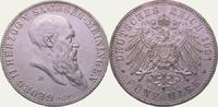5 Mark 1901 Sachsen-Meiningen Georg II. 1866-1914. Vorzüglich - Stempel... 750,00 EUR  +  5,00 EUR shipping