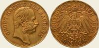 10 Mark Gold 1903  E Sachsen Georg 1902-1904. Vorzüglich  625,00 EUR  +  5,00 EUR shipping