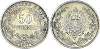 50 Pfennig 1877  C Kleinmünzen  Prachtexemplar. Unbedeutender Randfehle... 250,00 EUR  +  5,00 EUR shipping