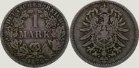 1 Mark 1879  A Kleinmünzen  Schön +  45,00 EUR  +  5,00 EUR shipping