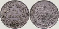 1/2 Mark 1911  E Kleinmünzen  Vorzüglich  10,00 EUR  +  5,00 EUR shipping
