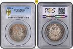 PCGS certified 3 Mark 1909  A Reuss, älter...
