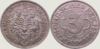 3 Mark 1927  A Weimarer Republik  Vorzüglich - Stempelglanz  145,00 EUR  +  5,00 EUR shipping