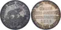 Ausbeutetaler 1862  A Anhalt-Bernburg Alex...