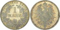 1 Mark 1874  H Kleinmünzen  Prachtexemplar...