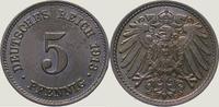 5 Pfennig 1913  E Kleinmünzen  Prachtexemplar. Fast Stempelglanz  20,00 EUR  +  5,00 EUR shipping
