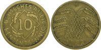 10 Rentenpfennig 1925  F Weimarer Republik  Sehr schön  1675,00 EUR  plus 5,00 EUR verzending