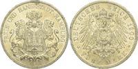 5 Mark 1900  J Hamburg  Kl. Randfehler, vorzüglich +  225,00 EUR  plus 5,00 EUR verzending